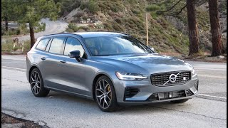 The Volvo V60 Polestar Engineered is Fast, Good-Looking, and Economical All At Once - One Take by The Smoking Tire