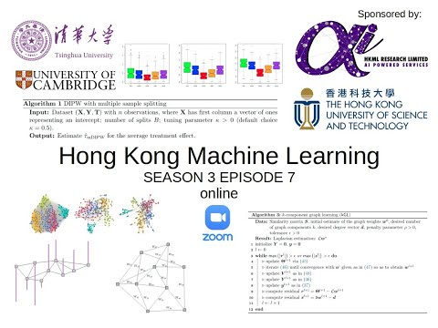 HKML Meetup S3E7 - Algorithms for Learning Graphs in Financial Markets by Zé Vinícius