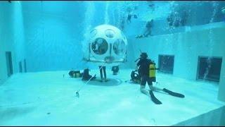 Que tal um jantar romântico debaixo d'água?