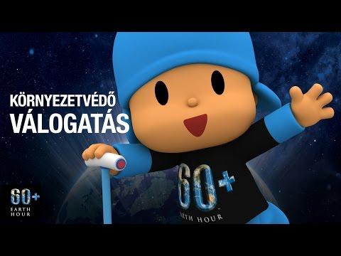 Pocoyo português Brasil - Pocoyo: Föld órája - válogatás