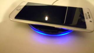 Samsung Wireless Charger Unboxing  - Compatible with S6, S7 & S7 Edge and the New Galaxy Note7