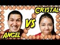 Angel VS Crystal - Egg Head Arcade Challenge