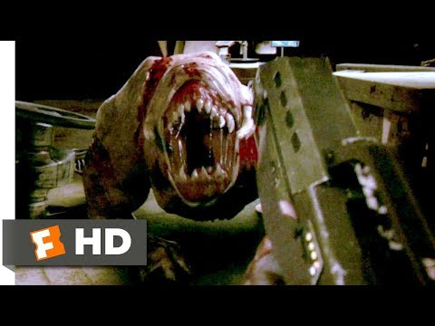 Doom (2005) - First Person Shooting Scene (9/10)   Movieclips