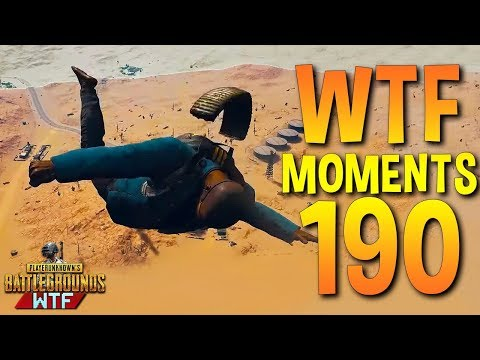 PUBG Funny WTF Moments Highlights Ep 190 (playerunknown's battlegrounds Plays) (видео)