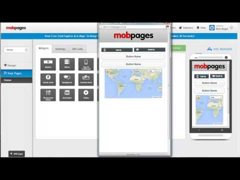 Best Mobile Website Builder - How To Create With MobPages Maker