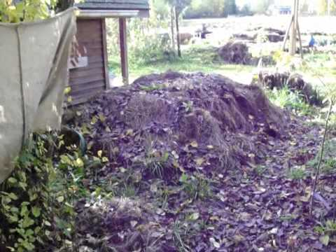 500 showers heated from one small compost pile: a how to tutorial