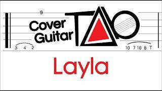 Eric Clapton - Layla Guitar TAB + Backing Track + Chords