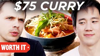 Video $2 Curry Vs. $75 Curry MP3, 3GP, MP4, WEBM, AVI, FLV September 2018