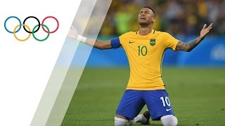 Neymar penalty seals gold for hosts | Rio 2016 Olympic Games