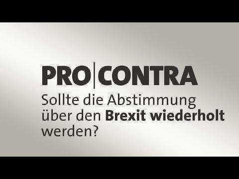 Brexit: Sollte das Referendum wiederholt werden? Pro und Contra