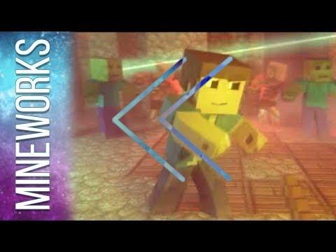 Reverse - MineworksAnimations - Na Na Na (I Found A Diamond)