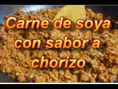 CHORIZO DE SOYA - SOY SAUSAGE - LONGANIZA - lorenalara144