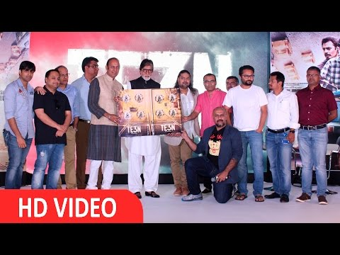 Amitabh Bachchan At Music Launch Of Film Te3n