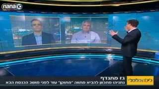 יגאל לנדאו בתכנית לילה כלכלי בערוץ 10