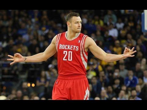Donatas Motiejunas Rockets 2015 Season Highlights Part1