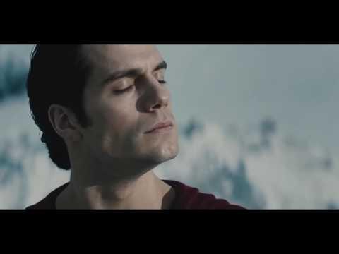 Man Of Steel: First Flight Scene