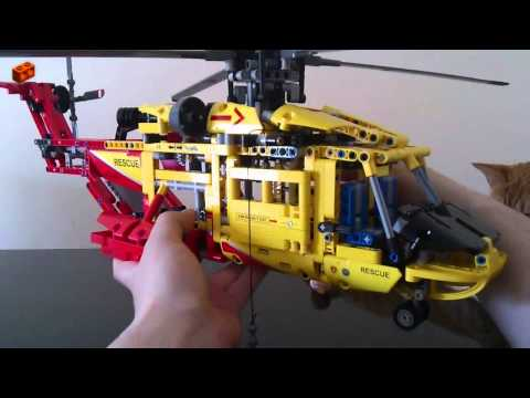 comment construire helicoptere lego