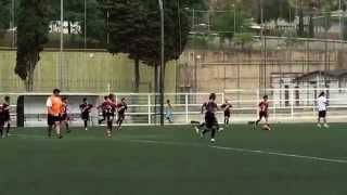 Antoine Boutain playing at the Barcelona Worldcup - highlights (July 2015, 12 years old, born 2003) - YouTube