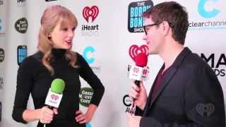 Bobby Bones interviews Taylor Swift