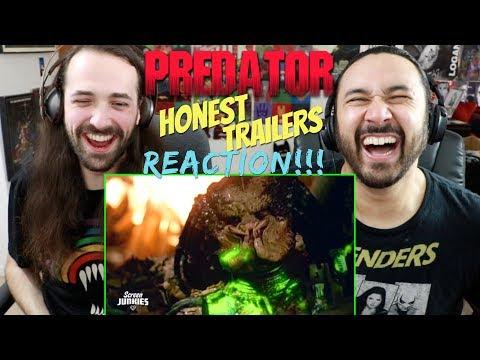 Honest Trailers - PREDATOR (1987) - REACTION!!!