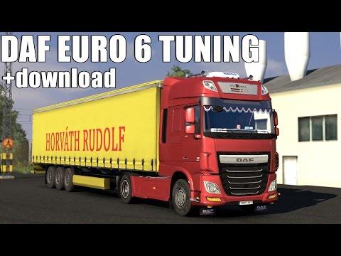 DAF XF Euro 6 Tuning mod