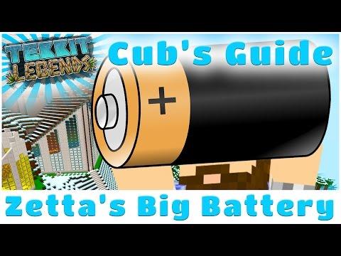 Zetta Industries Big Battery   Cub's Guide to Tekkit Legends