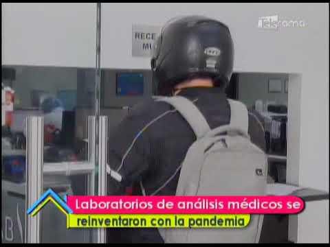 Laboratorios de análisis médicos se reinventaron con la pandemia