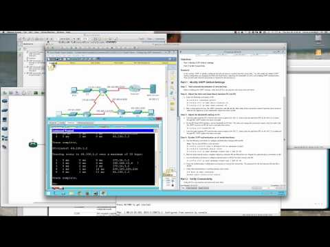 8XX - The following video will walk you through the PacketTracer 5.1.5.7 activity and demonstrate all configuration steps. Note that this activity is for the Cisco...