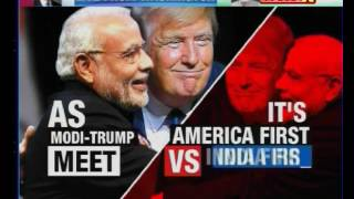 NewsX reports Live on Modi Trump talks