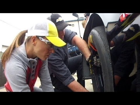 Christmas Abbott – NASCAR's First Woman Pit Crew Member