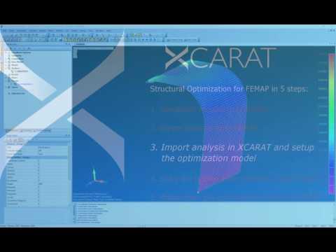XCARAT Optimization with Siemens FEMAP