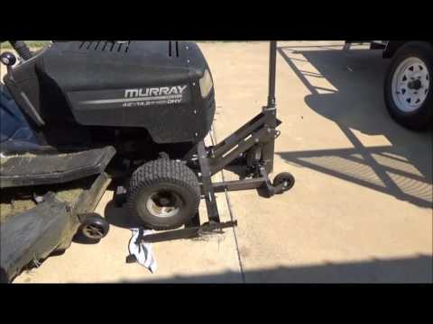 HARBOR FREIGHT   Pittsburgh Riding Mower / Atv Lift Jack 60395 / 61523  WONT LIFT OR PUMP UP