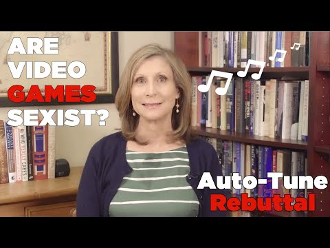 sexist - I saw this video of Dr. Christina Sommers talking about video games and it just made me want to sing. And dance. https://www.youtube.com/watch?v=9MxqSwzFy5w ...