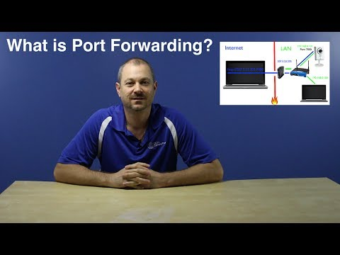 port forward - What is port forwarding? How does port forwarding work? Answers to these questions will be explained in this video using a simple network that contains a com...