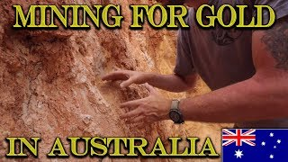 Video MINING VISIBLE GOLD from the Vein in Australia! MP3, 3GP, MP4, WEBM, AVI, FLV September 2019