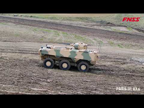 Video - Βίντεο με το τροχοφόρο ΤΟΜΑ που παράγει η τουρκική FNSS