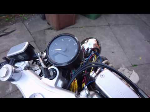 Universal digital motorcycle speedometer RPM problem