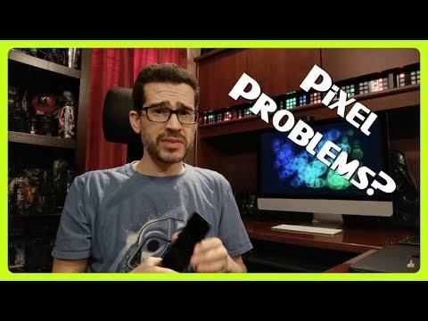 Pixel 2 XL Screen Problems! видео