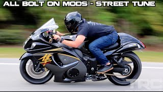 4. Suzuki Hayabusa battles Turbo Supra on the highway!