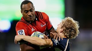 Brumbies v Crusaders Rd.11 2018 Super rugby video highlights