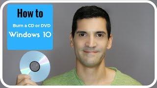 Video How to burn a CD, burn a DVD or data disk using Windows 10 MP3, 3GP, MP4, WEBM, AVI, FLV Maret 2019