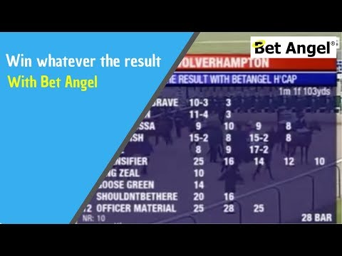 Win whatever the result with Bet Angel