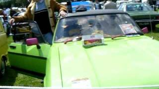 Del Boy at Car Show