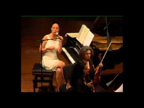 Orit Wolf Hosting Carmel Quartet in a Dvorak Program. Tel Aviv Museum, March 2011