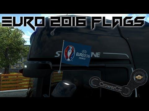 EURO 2016 FLAGS 1.24