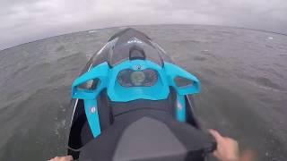 7. SeaDoo GTR 230 in rough weather