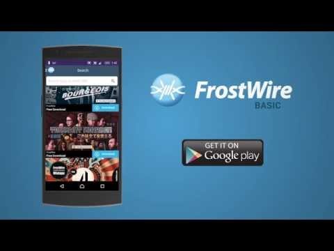 Video of FrostWire - Torrent Downloader