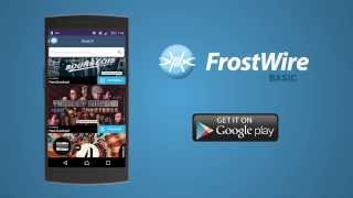 FrostWire - Torrent Downloader YouTube video