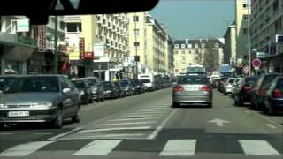 Caen France  city images : City driving: Caen, France フランスで運転 2009