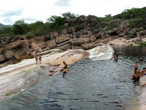 Cachoeira Donana em Andaraí na Chapada Diamantina
